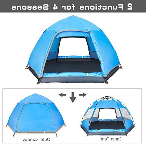 BATTOP Tent Instant Up Family Camping - 4