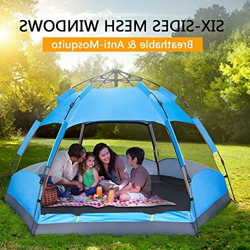 BATTOP Person Tent Camping Layer - Waterproof 4