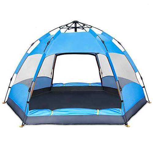 4 person tent instant pop