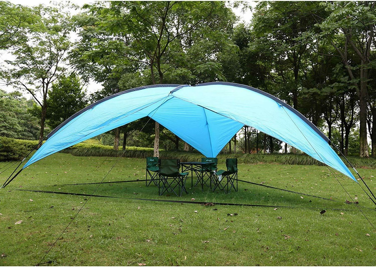 4 person waterproof large tent for camping