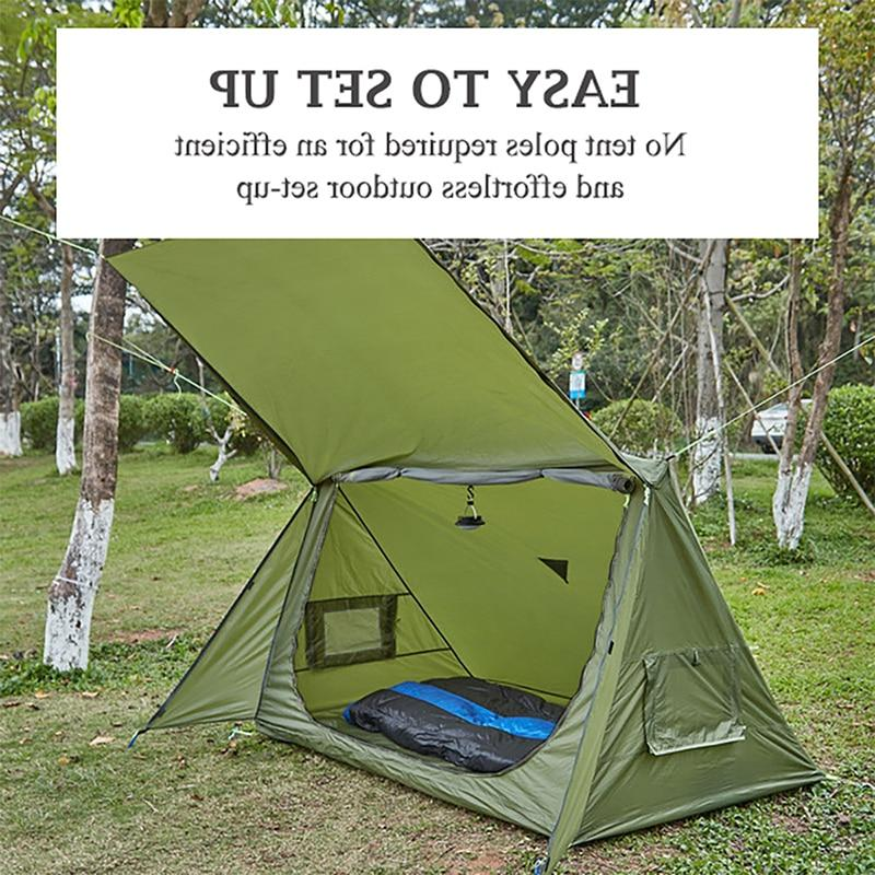 OneTigris Season <font><b>Tent</b></font> & Survivalists Hiking Taffeta