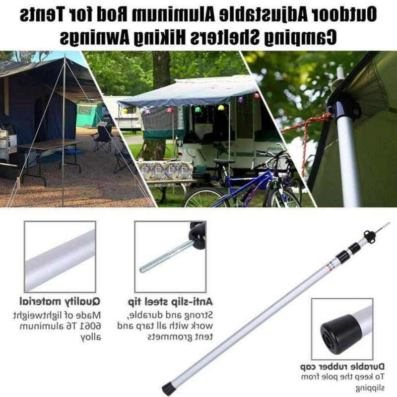 Telescoping Aluminum Camping Tarpaulin Rod