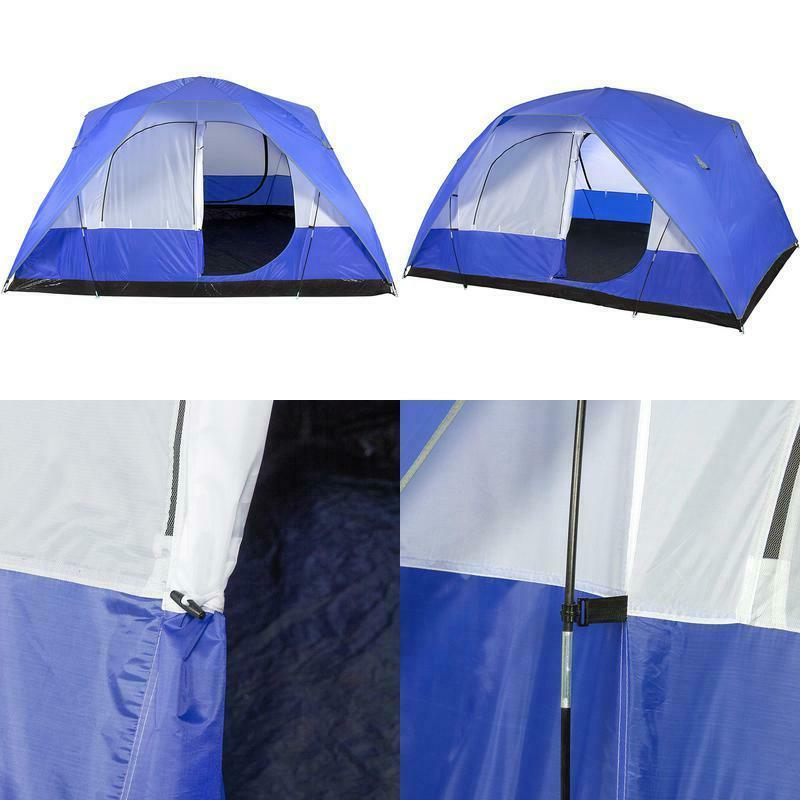 5 person camping tent outdoor family sleeping