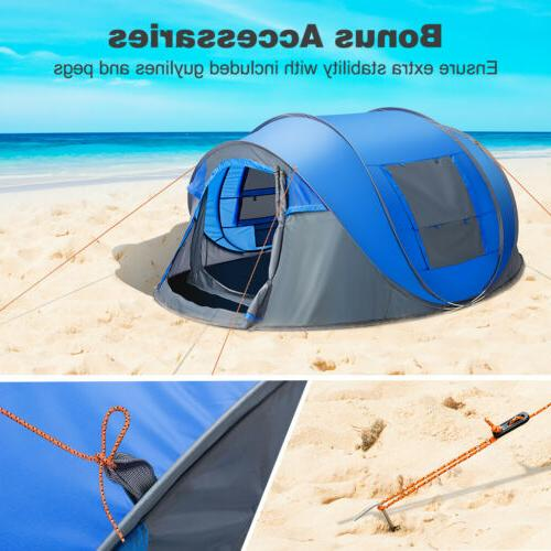 Waterproof All Season 5-6 People Family Tent Camping Tent