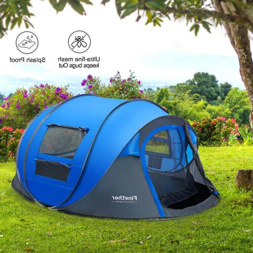 5-Person Tent Camping Family Shelter Waterproof US