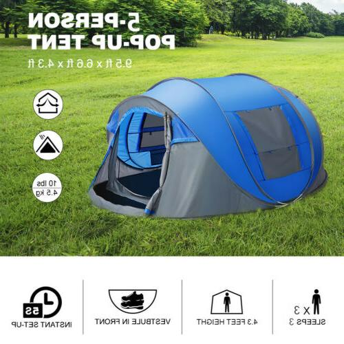 Camping Outdoor Family Shelter Waterproof