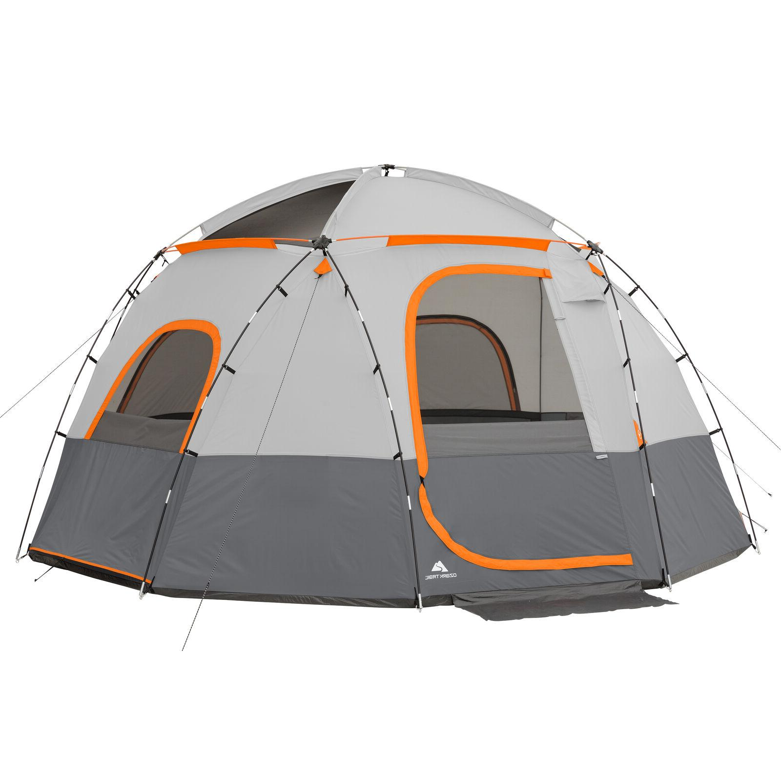 6-Person Ozark Trail Camping Sphere Tent With Rope