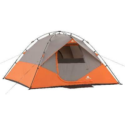 Ozark Trail 6-Person Instant Dome Tent, 10' x 9' EASY SETUP