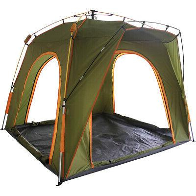 Qwest Person Easy Up Camping Tent, 6' Automatic Shelter