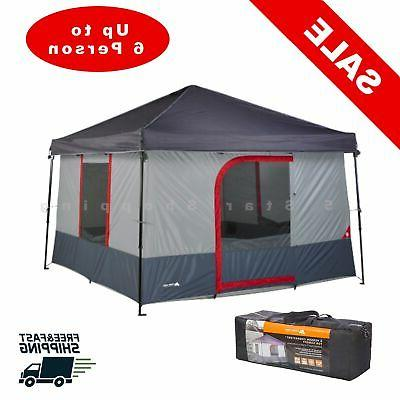 6 person tent outdoor cabin shelter waterproof