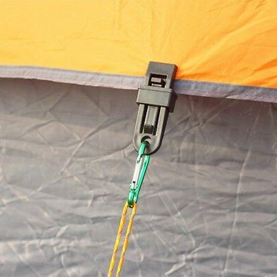 6PCS Awning Set Clips Survival Tent US