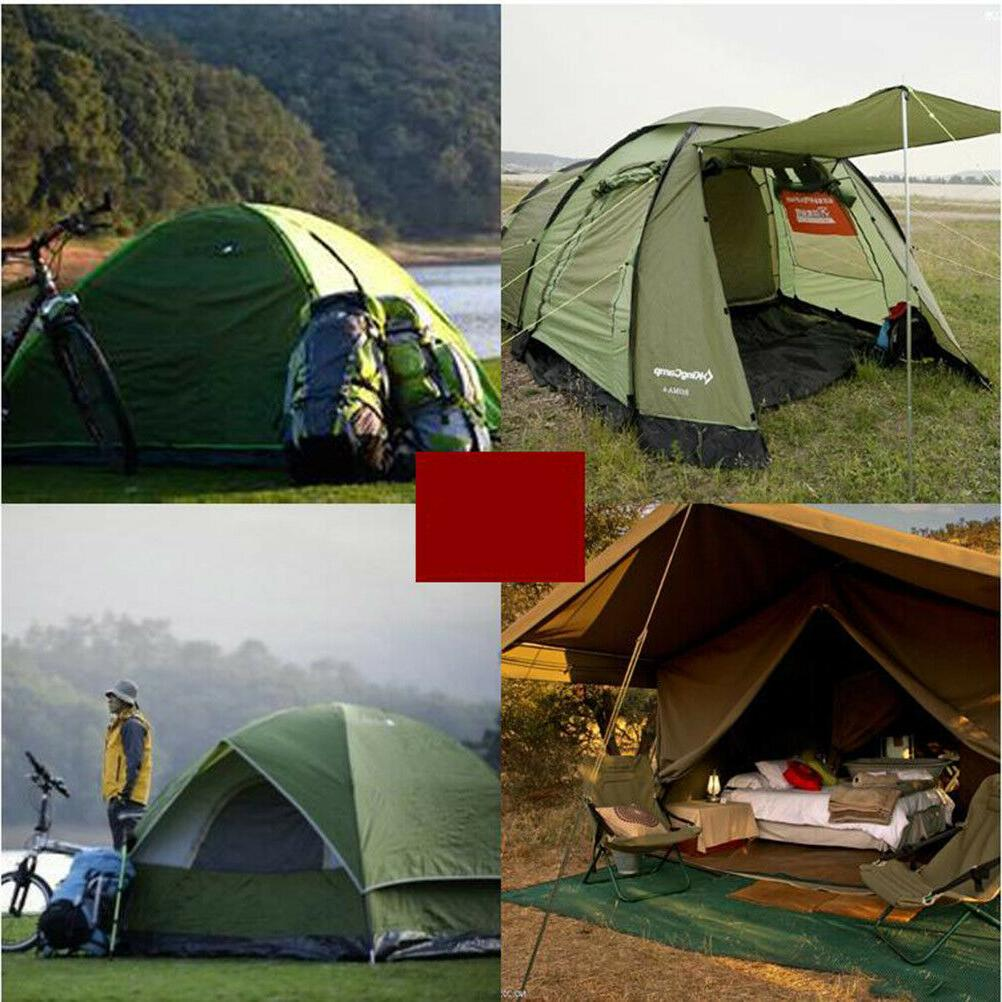 7Pcs Tent Stakes Reflective Cyclone Pull