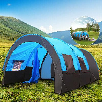 8 10 Large Tent Tunnel Camping Layer