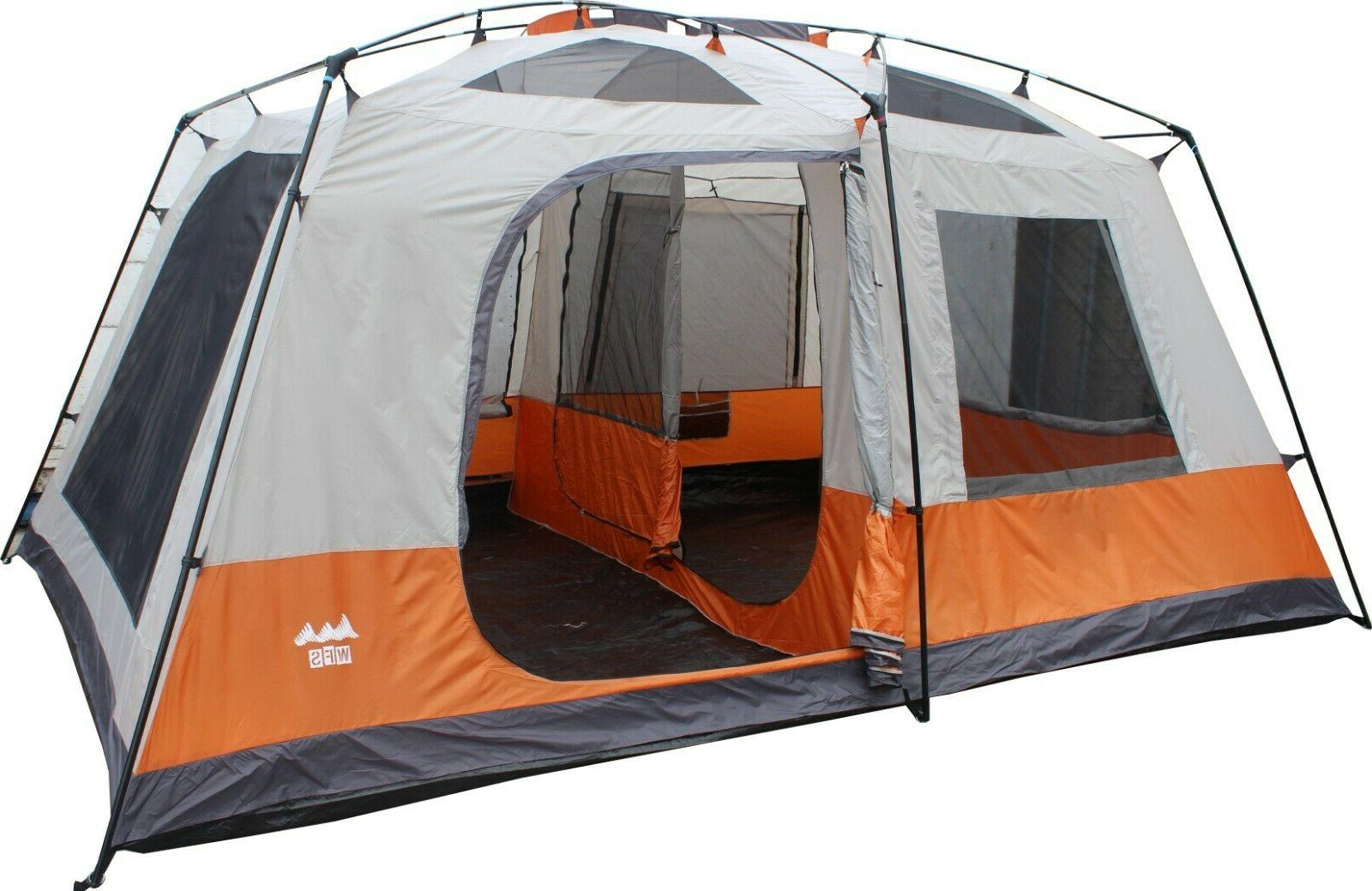 8 person 2 room cabin tent 15