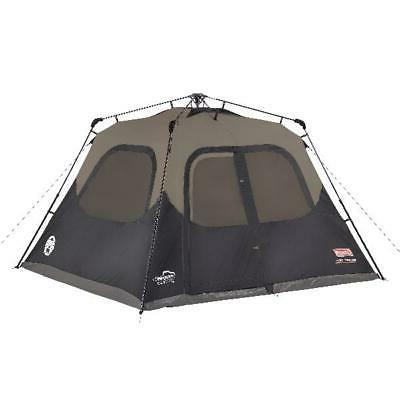 Coleman 6-Person Instant Pop Up Cabin Camping Tent Outdoor I