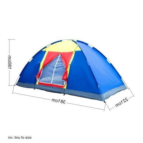 8 Person Tent Traveling Hiking Portable