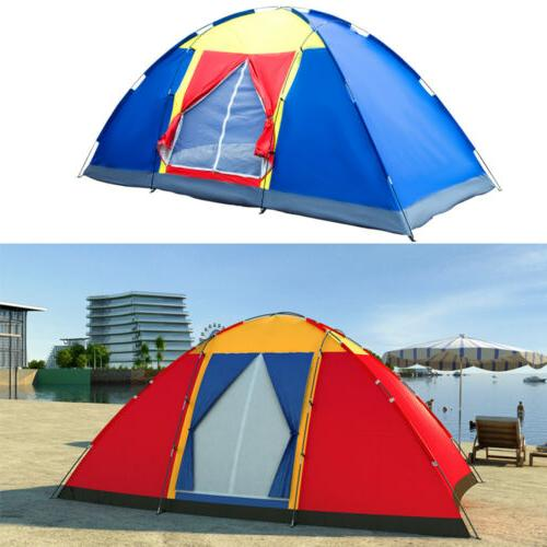 8 person large family tent dome traveling