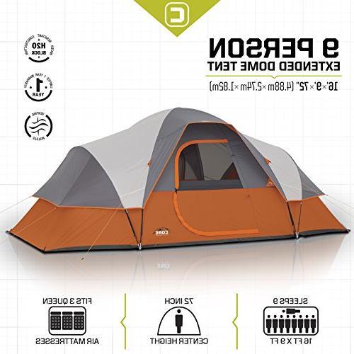 CORE 9 Person Dome 16' x
