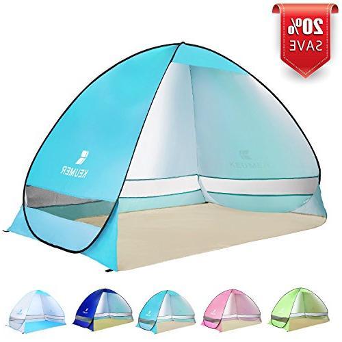 BATTOP Pop up Beach Tent Camping Sun Shelter Outdoor Automat