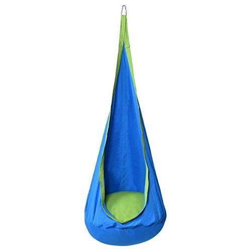 Brilliant Costzon Kids Pod Swing Chair Tent Nook Indoor Uwap Interior Chair Design Uwaporg