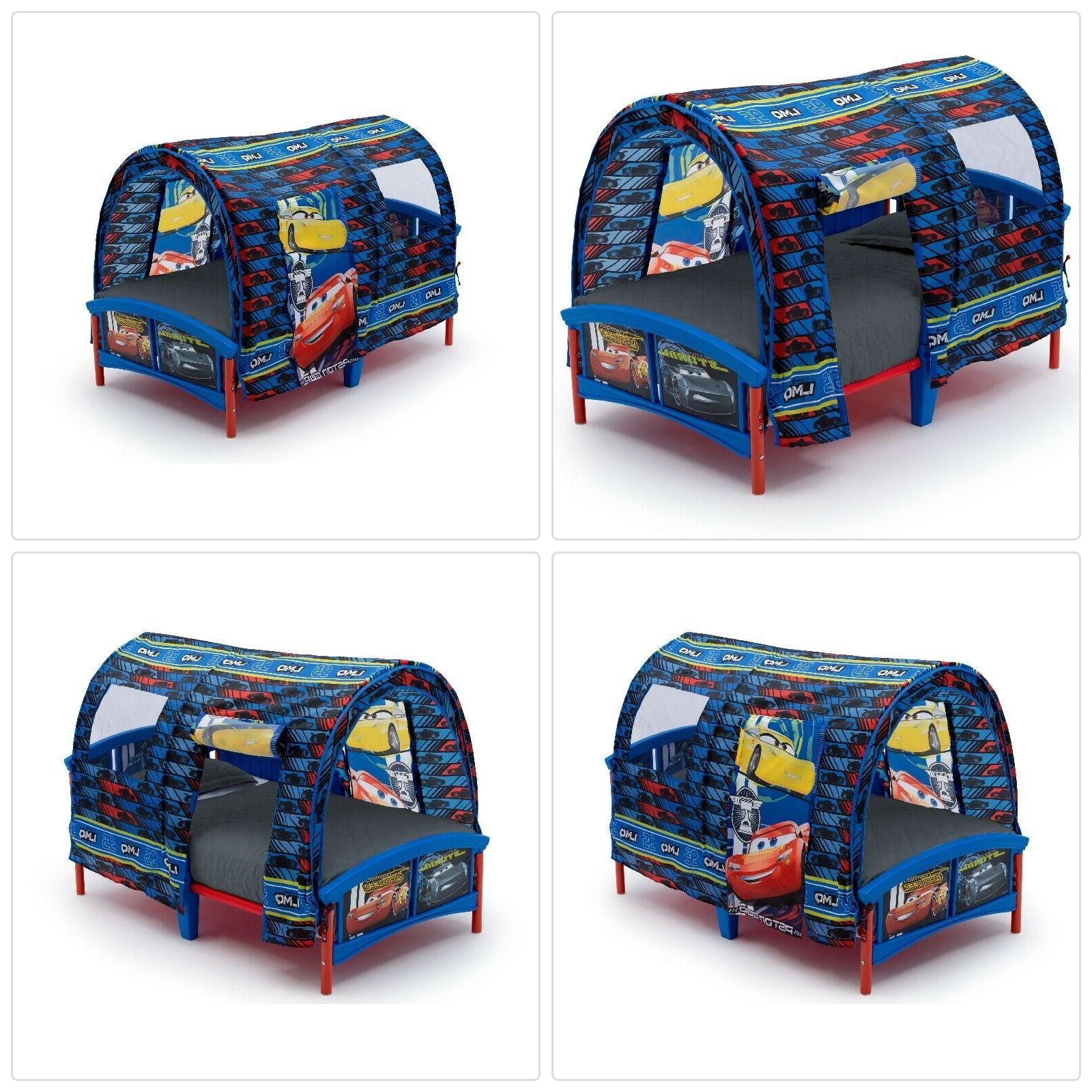 Delta Children Toddler Tent Bed, Disney/Pixar Cars