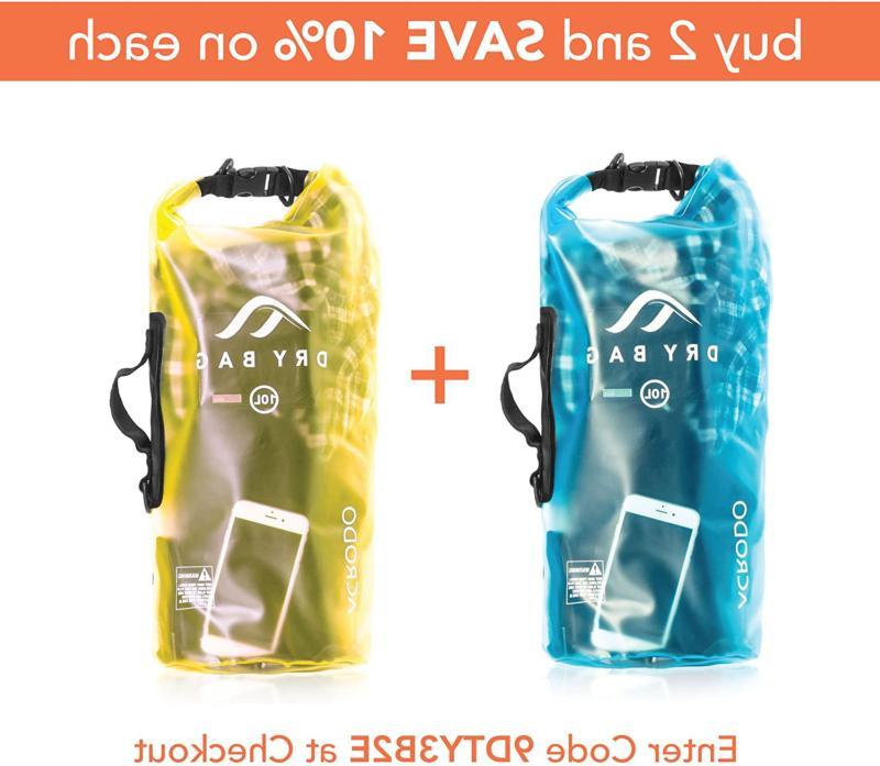 Acrodo Waterproof - 10 20 Floating Dry Sacks Beach, Strong