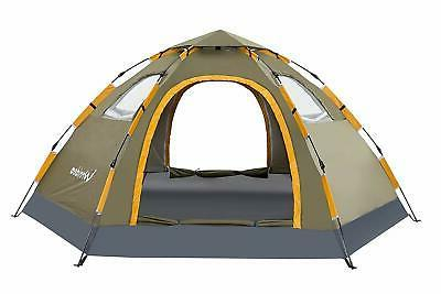 Wnnideo Automatic Instant Pop Up Tent Outdoor 4 6