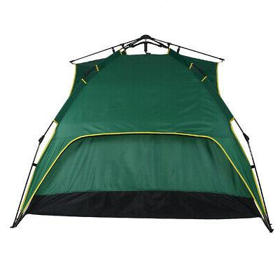 Person Folding Tent Camouflage Hiking