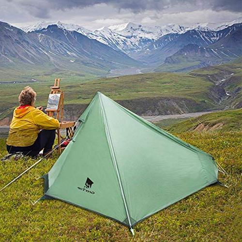 Geertop Tent Ultralight 3-Season with Carry Portable & Lightweight Tent for Hiking, Traveling