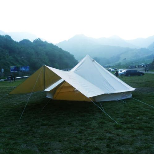 Bell Canopy Tent Cotton Glamping