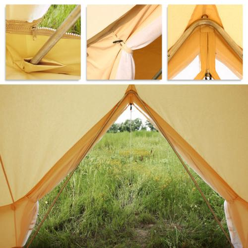 Bell Canopy Cotton Canvas