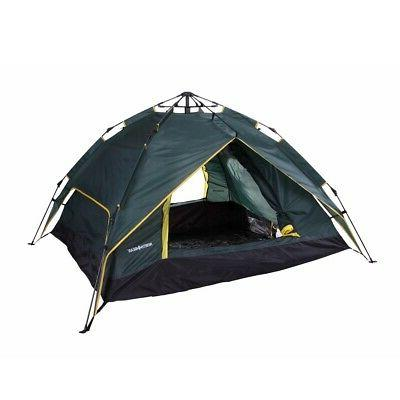 camping double layer 3 person instant camping