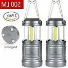 Moobibear 500lm LED Camping Lanterns with Magnetic Base, 30