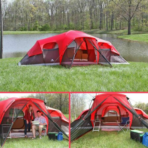 camping tent 10 person large cabin easy