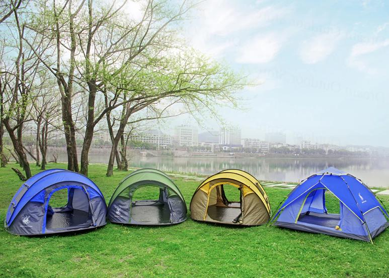 Camping Tent Hiking Pop Up Automatic Outdoor