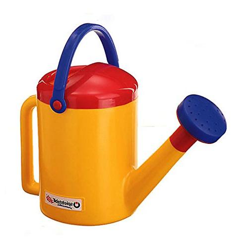 classic yellow watering can