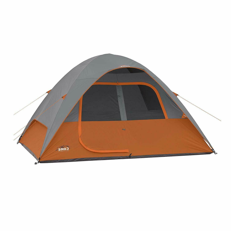 core 6 person dome tent 11 x9