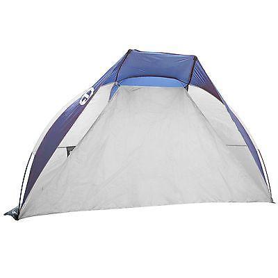 Tahoe Cruz Summer Sun Shelter and Beach Shade Tent Blue