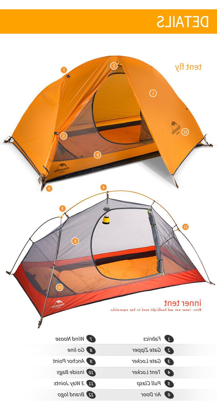 Naturehike Cycling Ultralight Person Tent
