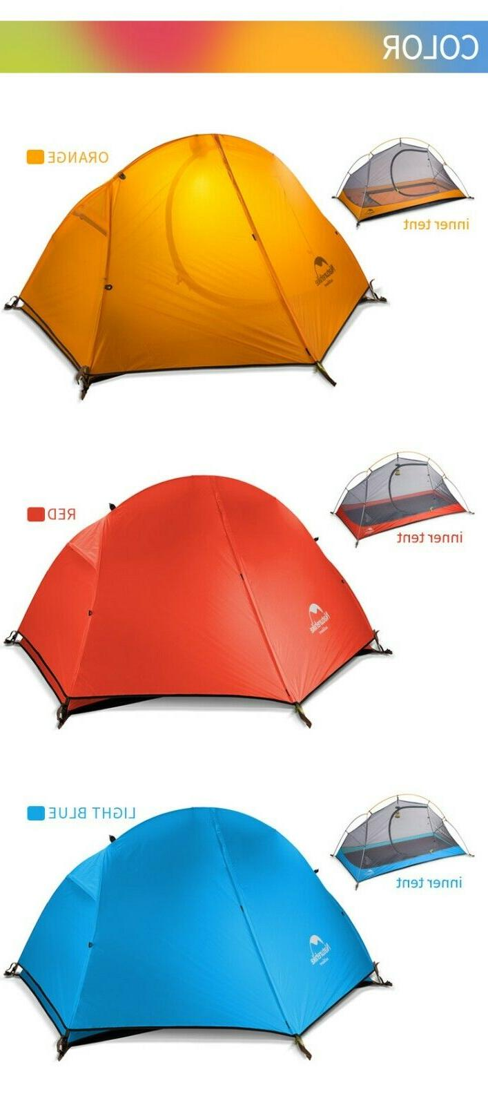 Naturehike Tent Ultralight 20D/210T For Person