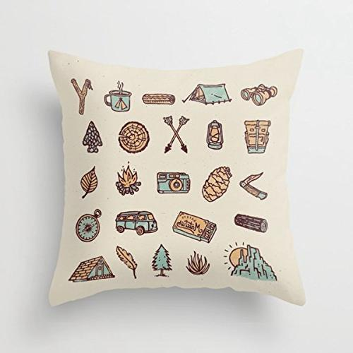 decorative throw pillow covers lets