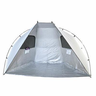 deluxe easyup beach cabana tent sun shelter