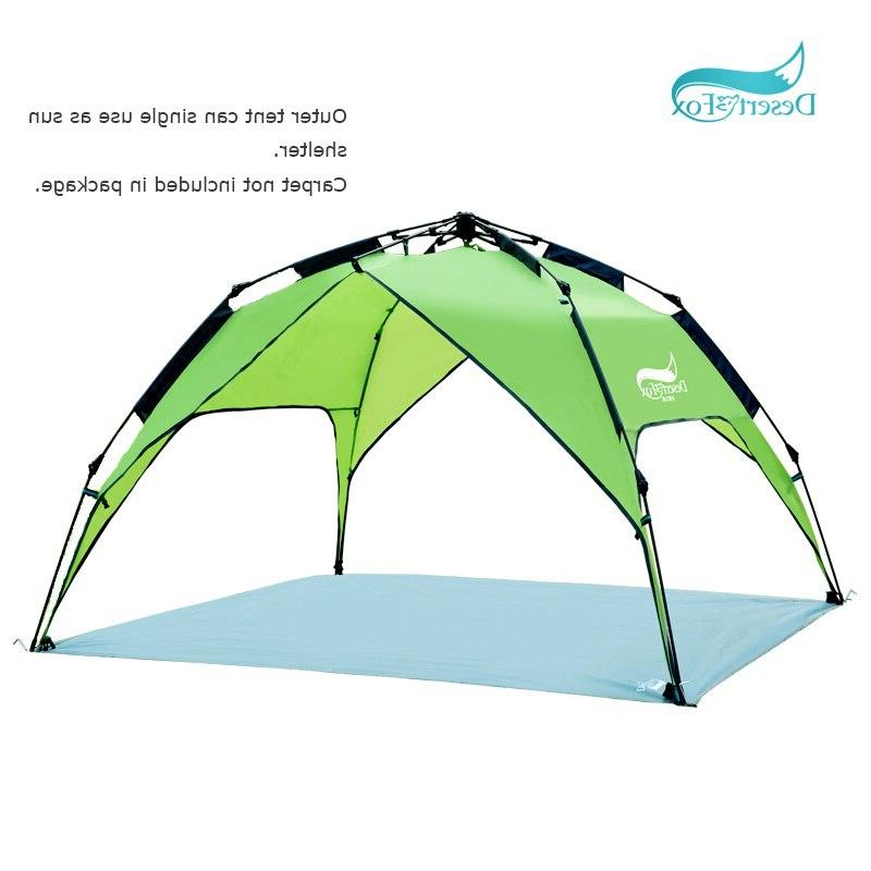 Desert&Fox Automatic <font><b>Tent</b></font> Person Setup for Sun