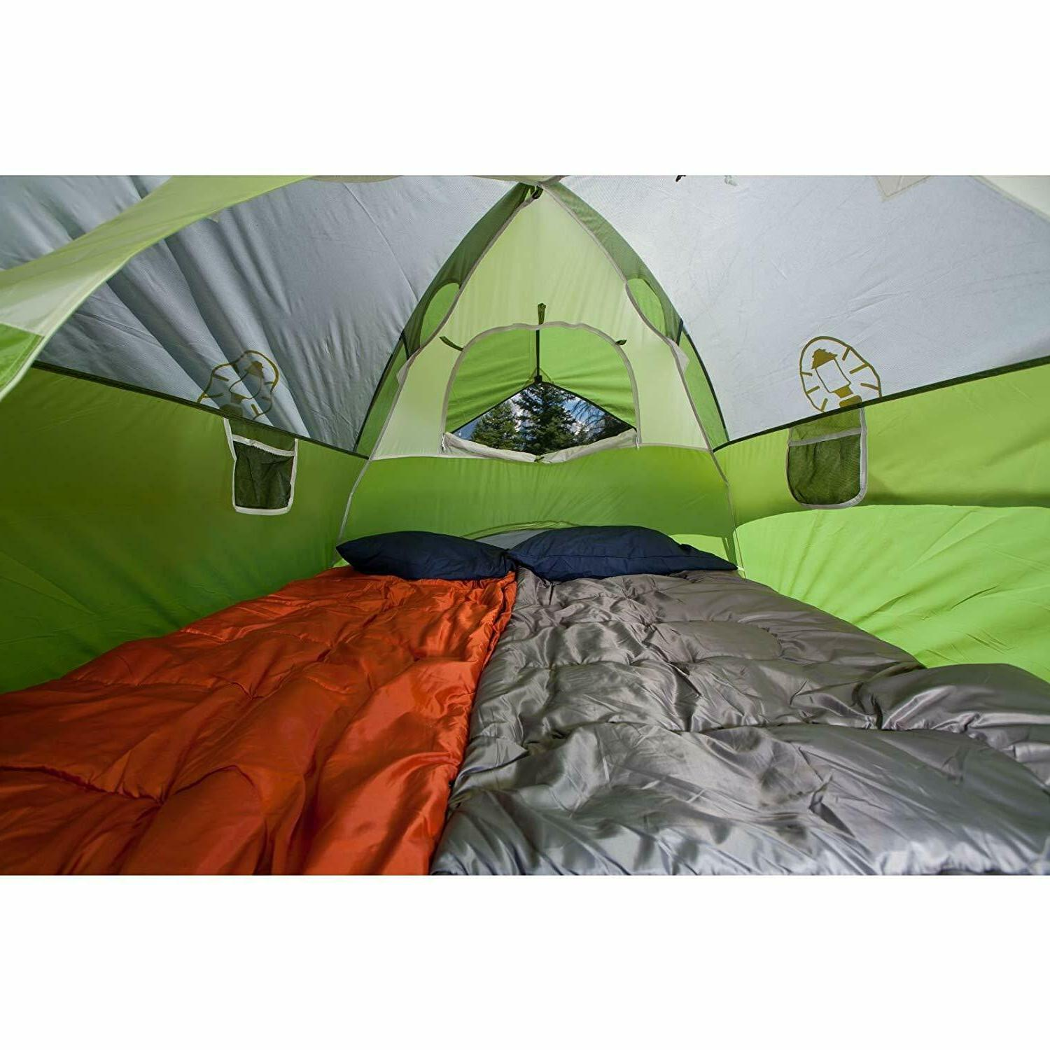 Coleman for Camping Sundome with Easy to 6