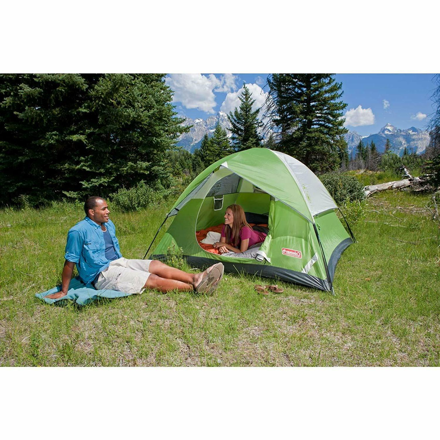 Coleman for Camping | Sundome with Setup to 6 person