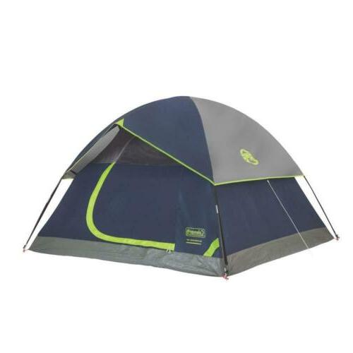 Coleman Dome Tent 4 Person, Green