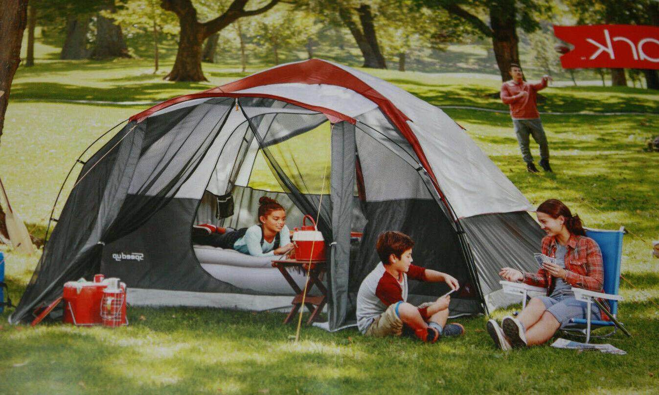 Embark Dome Screened Porch - Sleeps 6 - Setup min Setup Gray