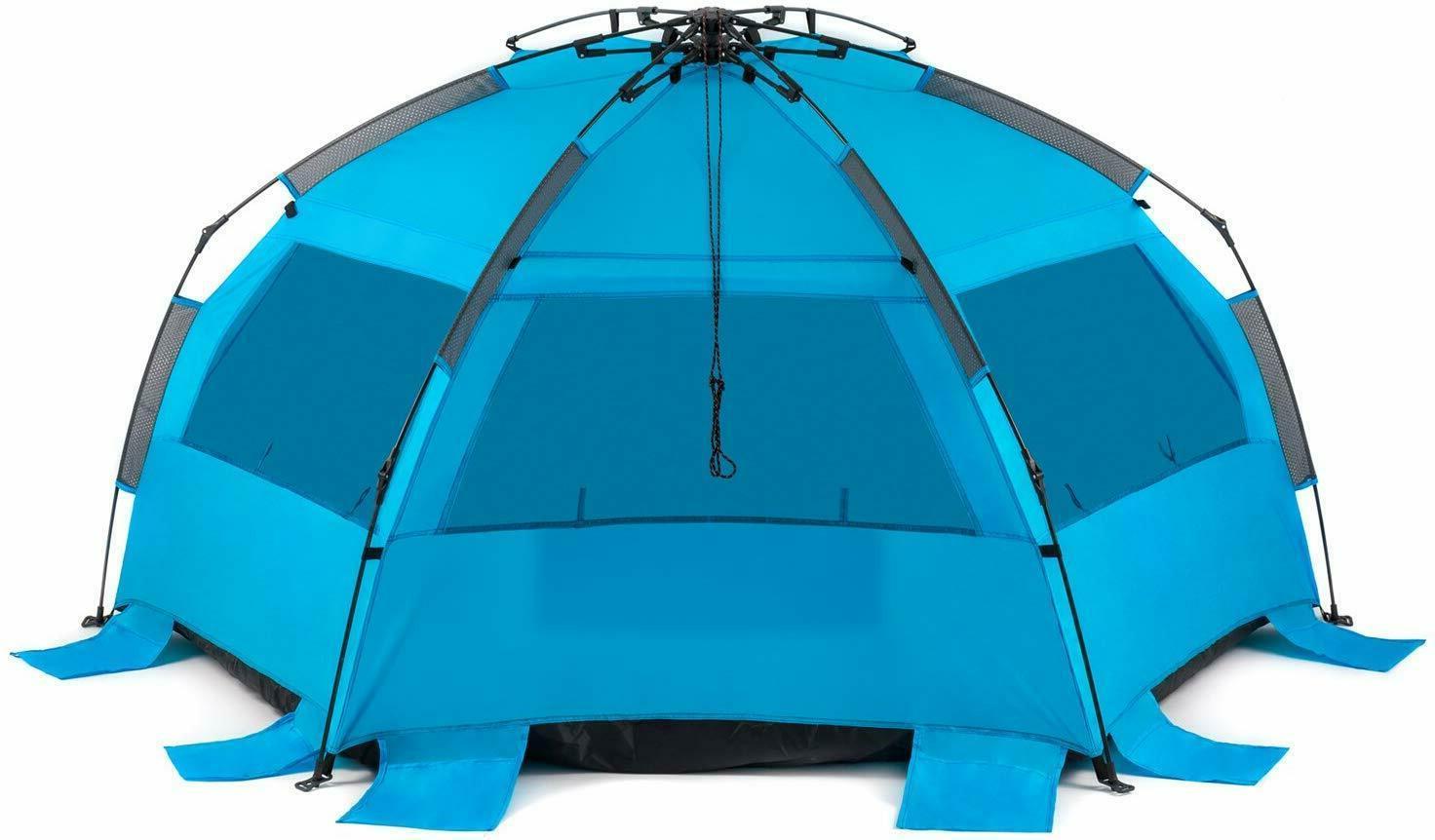 Easy Setup Beach Shelter UPF Protection