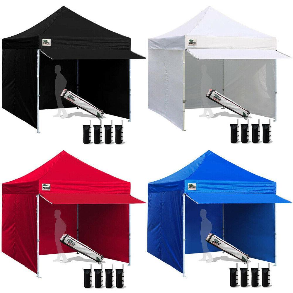 Ez Pop Up Canopy 10x10 Commercial Outdoor Tent