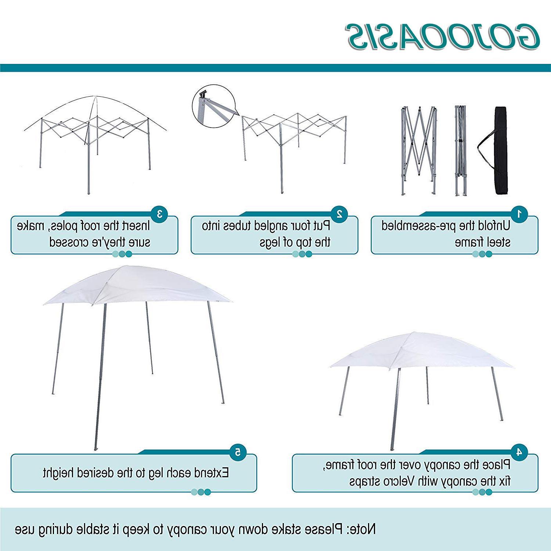 EZ Sun Shade Shelter Tent